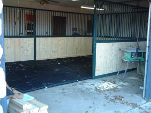 prefabricated horse stalls
