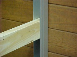 Aluminum Horse Stall Wall Channel